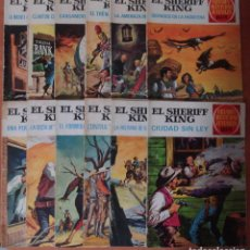 Tebeos: COLECCION DE 7 TEBEOS DE EL SHERIFF KING. EDITORIAL BRUGUERA.. Lote 110097023