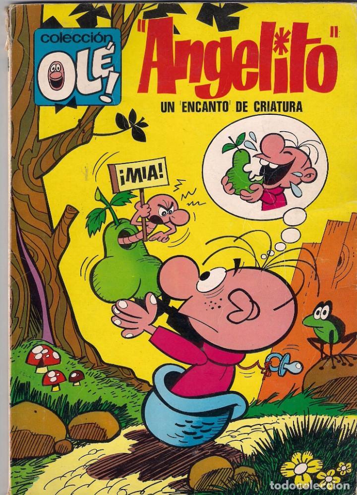 COLECCIÓN OLÉ. 1ª EDICIÓN. ANGELITO. Nº 54 (Tebeos y Comics - Bruguera - Ole)