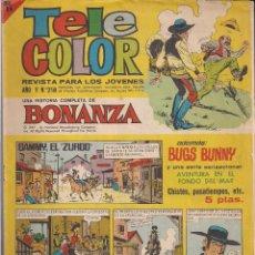 Tebeos: TELE COLOR Nº 218 - BONANZA - AVENTURA EN EL FONDO DEL MAR. Lote 110224827
