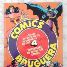 Tebeos: SUPERHEROES - TOMO 2 - ED. BRUGUERA - 1982 (BATMAN, WARLORD, SUPERMAN, LA MUJER MARAVILLA). Lote 110400883