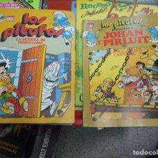 Tebeos: DOS OLE BRUGUERA LOS PITUFOS 2 EDICION 13 Y 15 MUY BUEN ESTADO. Lote 110675299