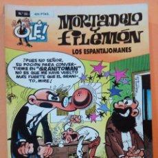 Tebeos: COLECCIÓN OLÉ NÚMERO 33 : MORTADELO Y FILEMON. LOS ESPANTAJOMANES. Lote 110676667