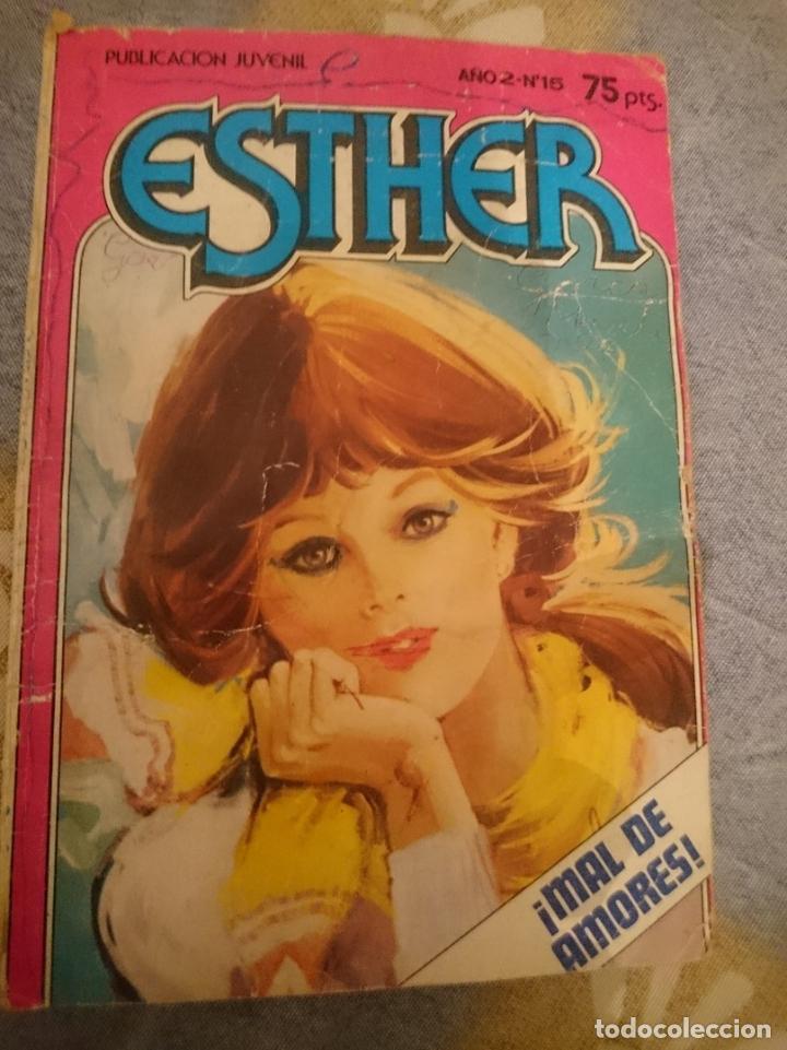 ESTHER - MAL DE AMORES -- AÑO 2 - N 15 (Tebeos y Comics - Bruguera - Esther)