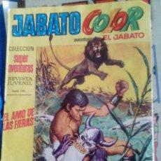 Tebeos: JABATO COLOR. NUM 1194. EL AMO DE LAS FIERAS. AMARILLO. Lote 110786395