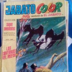 Tebeos: JABATO COLOR. NUM 1368 LAS CAVERNAS DEL MIEDO. AMARILLO.. Lote 110786739