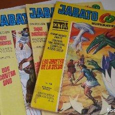 Tebeos: LOTE JABATO COLOR. 5 COMICS.. Lote 110786943