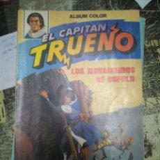 Tebeos: EL CAPITAN TRUENO. ALBUM COLOR COLECCION COMPLETA 12 NUMEROS EDITORIAL BRUGUERA. Lote 110798090