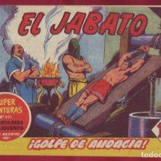Tebeos: BRUGUERA - JABATO - GOLPE DE AUDACIA 123. Lote 110891491