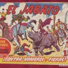 Tebeos: BRUGUERA - JABATO - CONTRA HOMBRES Y FIERAS 132. Lote 110891583