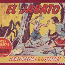Tebeos: BRUGUERA - JABATO - LA BESTIA DE LA SIMA 181. Lote 110892471