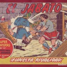 Tebeos: BRUGUERA - JABATO - FUNESTA RIVALIDAD 185. Lote 110892795