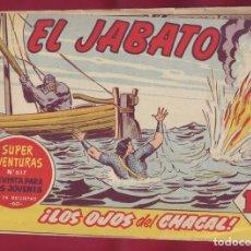 Tebeos: BRUGUERA - JABATO - LOS OJOS DEL CHACAL 195. Lote 110892971