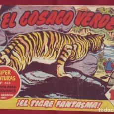 Tebeos: BRUGUERA - EL COSACO VERDE - EL TIGRE FANTASMA 61. Lote 110982635