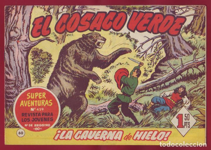 BRUGUERA - EL COSACO VERDE - LA CAVERNA DE HIELO 60 (Tebeos y Comics - Bruguera - Jabato)