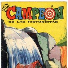 Tebeos: EL CAMPEÓN DE LAS HISTORIETAS NUMERO 34 - CON CARLOS AUDAZ. Lote 111268727