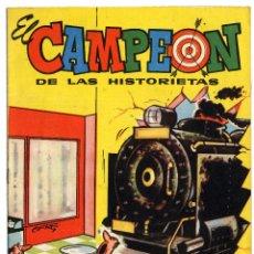 Tebeos: EL CAMPEÓN DE LAS HISTORIETAS NUMERO 35 - CON CARLOS AUDAZ. Lote 111268859