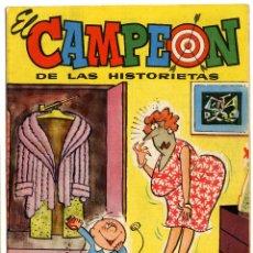 Tebeos: EL CAMPEÓN DE LAS HISTORIETAS NUMERO 36 - CON CARLOS AUDAZ. Lote 111268979