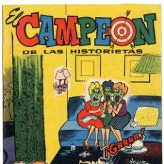 Tebeos: EL CAMPEÓN DE LAS HISTORIETAS NUMERO 41 - CON CARLOS AUDAZ. Lote 111270355