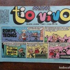Tebeos: MINI TIO VIVO. AÑO I Nº 24. EDITORIAL BRUGUERA. 1975. Lote 210812841