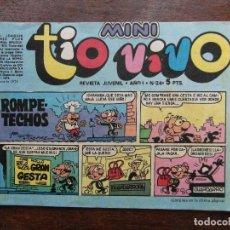 Tebeos: MINI TIO VIVO. AÑO I Nº 24. EDITORIAL BRUGUERA. 1975. Lote 111297403