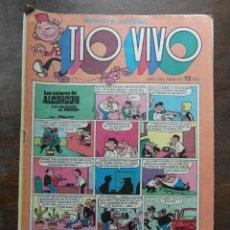 Tebeos: TIO VIVO Nº 747 AÑO XVIII EPOCA II. EDITORIAL BRUGUERA 1975. Lote 111318367