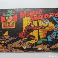 Tebeos: INSPECTOR DAN Nº 1 - MUÑECOS SANGRIENTOS - REEDICION FACSIMIL C91SADUR. Lote 111343203