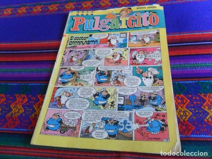 REVISTA JUVENIL PULGARCITO NºS 2544 CON EL SHERIFF KING. BRUGUERA 1980. 25 PTS. (Tebeos y Comics - Bruguera - Pulgarcito)