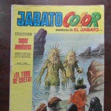 Tebeos: JABATO COLOR Nº 176. AVENTURAS DE EL JABATO. EDITORIAL BRUGUERA. AÑO VI 1973. Lote 111348211