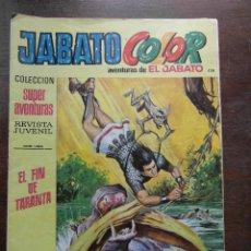 Tebeos: JABATO COLOR Nº 120. AVENTURAS DE EL JABATO. EDITORIAL BRUGUERA. AÑO IX 1976. Lote 111349299