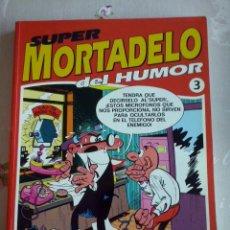 Tebeos: TOMO SUPER MORTADELO DEL HUMOR NUM. 3 ( RETAPADO CON 5 NUMEROS.).EDICIONES B. Lote 111359247