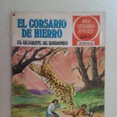 Tebeos: EL CORSARIO DE HIERRO. SERIE ROJA. Nº 24. 1ª EDICIÓN. BRUGUERA.. Lote 111429507