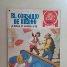 Tebeos: EL CORSARIO DE HIERRO. SERIE ROJA. Nº 43. 1ª EDICIÓN. BRUGUERA.. Lote 118206178