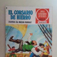 Tebeos: EL CORSARIO DE HIERRO. SERIE ROJA. Nº 28. 1ª EDICIÓN. BRUGUERA.. Lote 111430659