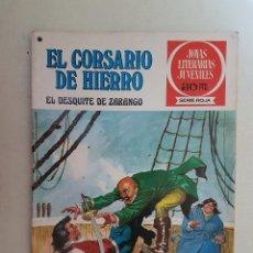 Tebeos: EL CORSARIO DE HIERRO. SERIE ROJA. Nº 34. 1ª EDICIÓN. BRUGUERA.. Lote 118206286