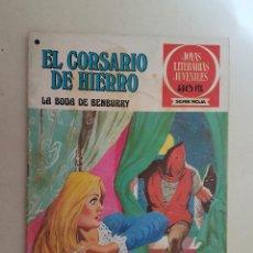 Tebeos: EL CORSARIO DE HIERRO. SERIE ROJA. Nº 41. 1ª EDICIÓN. BRUGUERA.. Lote 118206356