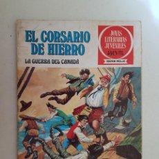 Tebeos: EL CORSARIO DE HIERRO. SERIE ROJA. Nº 29. 1ª EDICIÓN. BRUGUERA.. Lote 111432167