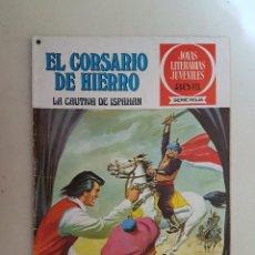 Tebeos: EL CORSARIO DE HIERRO. SERIE ROJA. Nº 13. 1ª EDICIÓN. BRUGUERA.. Lote 118206391