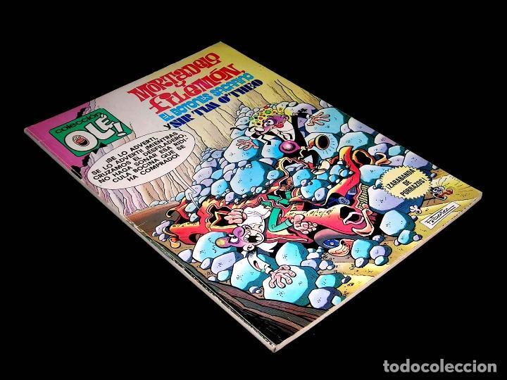 Nº 170 COLECCIÓN OLÉ BRUGUERA, MORTADELO Y FILEMÓN Y SACARINO, F. IBÁÑEZ, 1ª PRIMERA EDICIÓN 1979. (Tebeos y Comics - Bruguera - Ole)