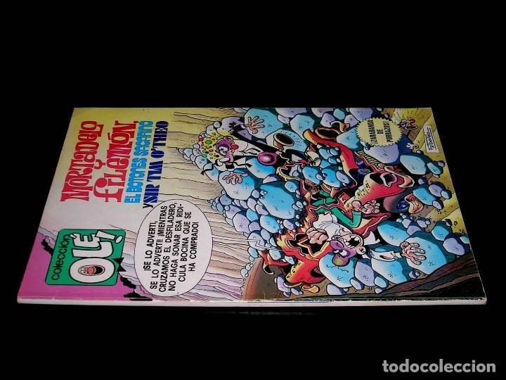 Tebeos: Nº 170 Colección Olé Bruguera, Mortadelo y Filemón y Sacarino, F. Ibáñez, 1ª primera edición 1979. - Foto 2 - 111489511