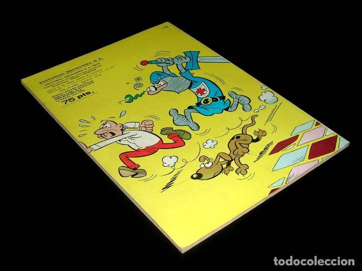 Tebeos: Nº 170 Colección Olé Bruguera, Mortadelo y Filemón y Sacarino, F. Ibáñez, 1ª primera edición 1979. - Foto 3 - 111489511