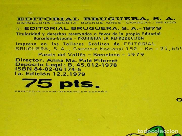 Tebeos: Nº 170 Colección Olé Bruguera, Mortadelo y Filemón y Sacarino, F. Ibáñez, 1ª primera edición 1979. - Foto 4 - 111489511