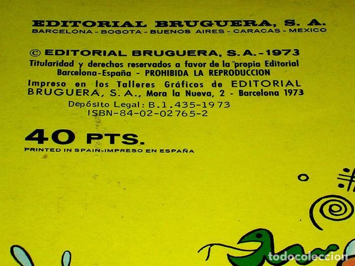 Tebeos: Nº 71 Colección Olé Bruguera, Mortadelo y Filemón, F. Ibáñez, 1ª primera edición 1973. - Foto 4 - 111490747