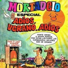 Tebeos: MORTADELO ESPECIAL- Nº 182 -ADIOS,VERANO,ADIOS-JULIO VIVAS-C. FREIXAS-1984-BUENO-DIFÍCIL-LEAN-3161. Lote 195209405