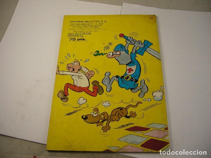 Tebeos: COLECCION OLE Nº 170 MORTADELO Y FILEMON EL BOTONES SACARINO Y SIR TIM O'THEO - BRUGUERA - Foto 3 - 111670467