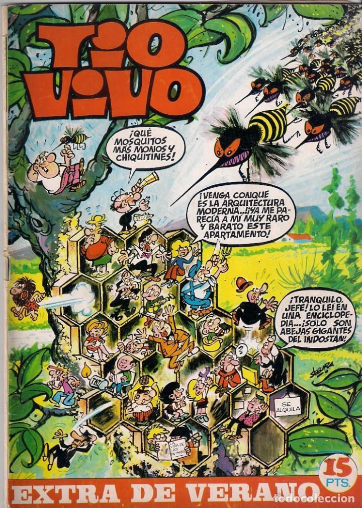 TIO VIVO EXTRA DE VERANO DE 1970 (Tebeos y Comics - Bruguera - Tio Vivo)