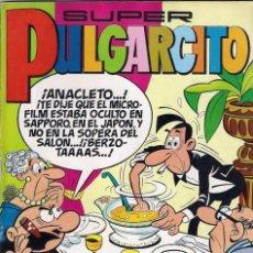 Tebeos: SÚPER PULGARCITO Nº 16. CONSERVA LOS BILLETES DE MORTADELO.. Lote 111709387