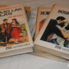 Tebeos: 6 LIBROS COLECCION HISTORIAS (MUJERCITAS) EDITORIAL BRUGUERA. Lote 111709543