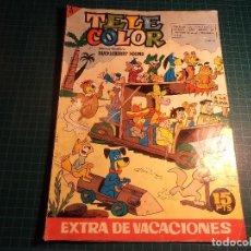 Tebeos: TELE COLOR. EXTRA DE VACACIONES. BRUGUERA. (Z-6).. Lote 111722239
