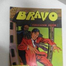 Tebeos: BRAVO, NUMERO 40: INSPECTOR DAN (20) - EL MUNDO DE LAS SOMBRAS (BRUGUERA 1976). Lote 111930799