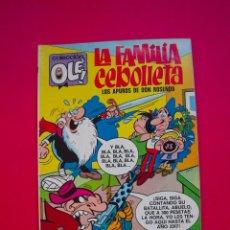 Tebeos: LA FAMILIA CEBOLLETA - LOS APUROS DE DON ROSENDO - OLÉ 58 - 1ª ED. - NÚMERO EN LOMO - BRUGERA 1971. Lote 112256811